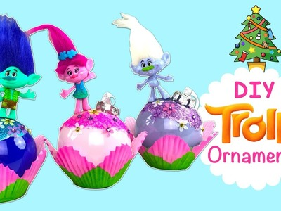 TROLLS ENFEITE DE NATAL! | DIY TROLLS Christmas' ornaments | Holiday Decoration