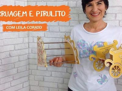 Carruagem e Pirulito com Leila Corato | Vitrine do Artesanato na TV