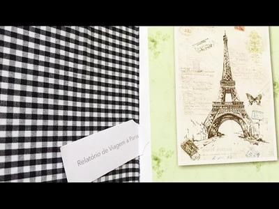 DIY Caderno de viagem ✂️ Artesanato