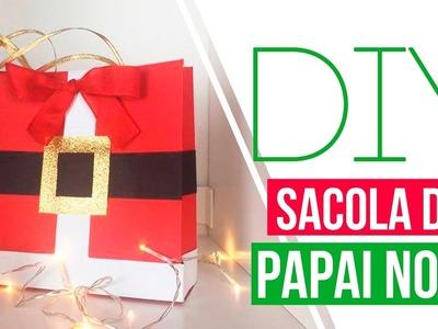 DIY - Embalagem de presente do Papai Noel | Carol Ramos