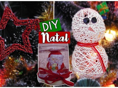 DIY ESPECIAL DE NATAL | CHRISTMAS DECOR