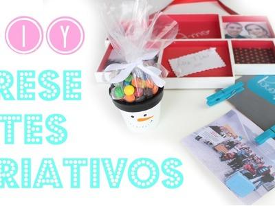 DIY Presentes CRIATIVOS para o Natal | Larissa Vale