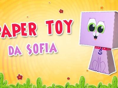 Paper toy da gata SOFIA - Colecione!