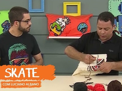 Skate com Luciano Albano | Vitrine do Artesanato na TV