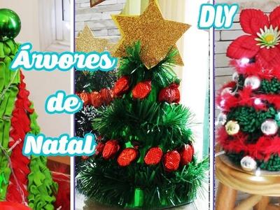 3 DIY ÁRVORES DE NATAL (com bala, Eva e balão) ESPECIAL NATAL #4 | Buba Balão