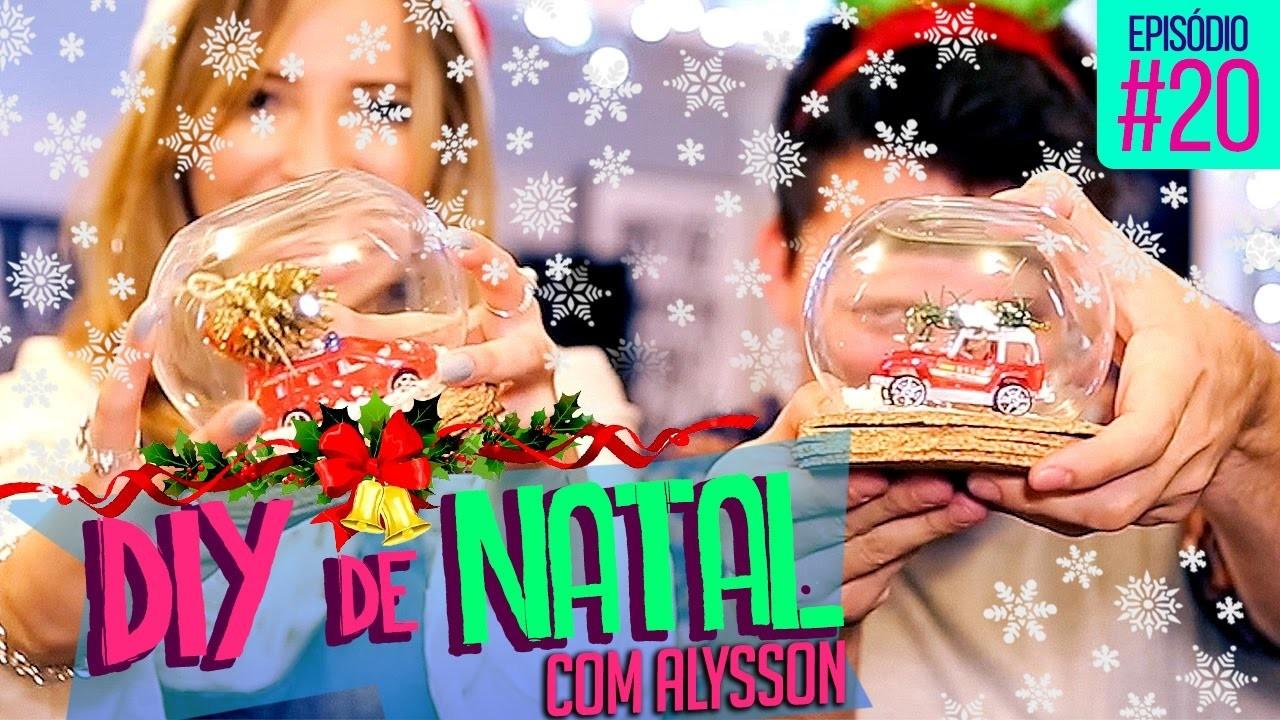 DIY DE NATAL COM ALYSSON, BATE-PAPO E MUITO MAIS . ♡