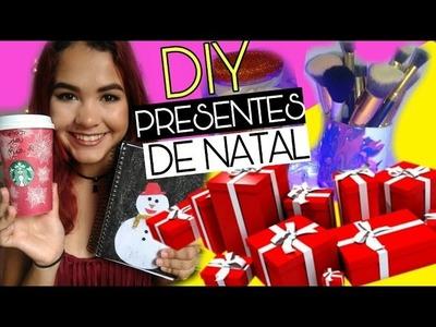 DIY IDEIAS DE PRESENTES DE NATAL COM ISAA ERUSTES