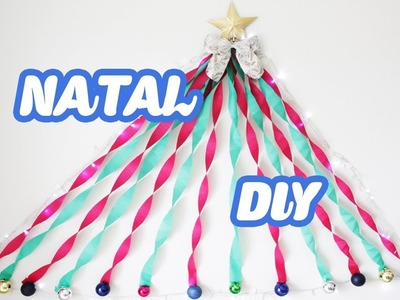 Diy Natal #2 Decoração de Parede Facil e barata - Faça seu Natal DIY