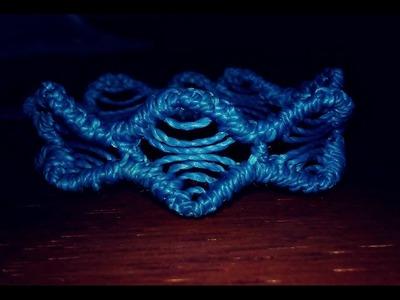 Macrame bracelet tutorial easy(Tutorial pulseira macrame)