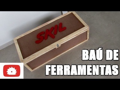 Como fazer Baú de ferramentas SKIL - DIY | Na oficina - S02E20