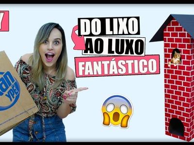 DIY Do LIXO ao LUXO ✂ IDEIA FANTÁSTICA USANDO PAPELÃO