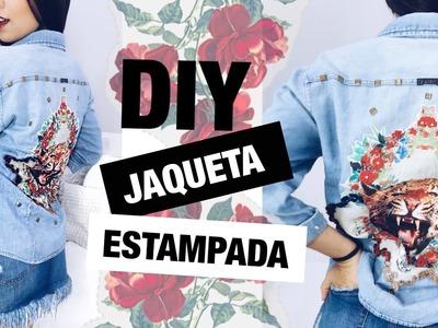 DIY: JAQUETA CUSTOMIZADA NAS COSTAS