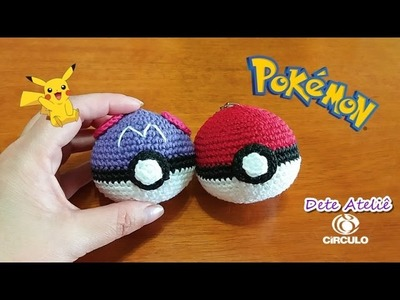 Pokeball and Master Ball (Pokebola e Pokebola Master) em Crochê by Claudete Azevedo