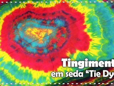 TIE DYE EM SEDA com Linda Vessatti - Programa Arte Brasil - 22.12.2016