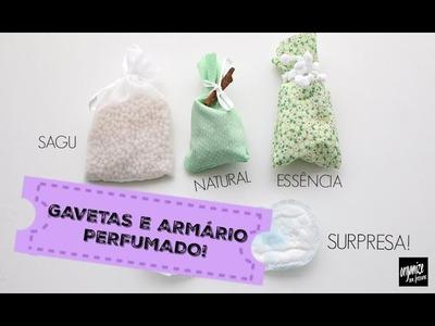 5 IDEIAS PARA DEIXAR O ARMÁRIO E AS GAVETAS PERFUMADAS! | Organize sem Frescuras!