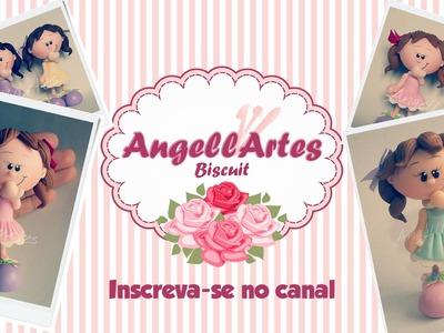 Bonequinha Biscuit - AngellArtes