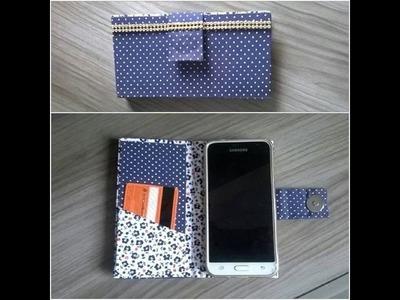 Capinha para celular - Feita com Caixa de Leite e Sem costura! | by Rafaela Ferreira