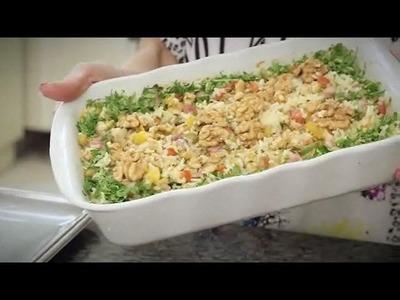 Ceia de Natal: aprenda a fazer um arroz fácil e especial
