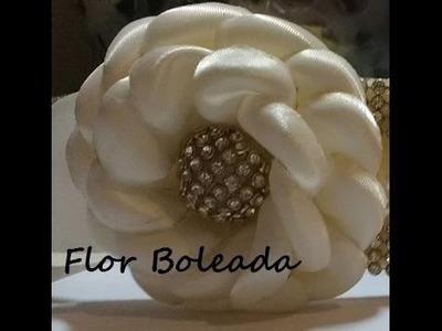 Como fazer Flor Boleada