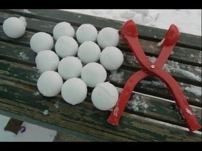 Como Fazer Uma Maquina de Bola de Neve