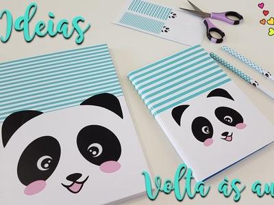 DIY | 3 ideias de material escolar | Panda