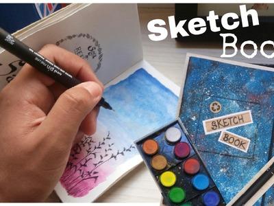 DIY   Como fazer um Sketchbook, diário, agenda, livro personalizado