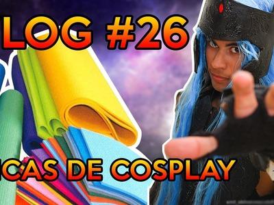 Fabricação simples de armadura, máscaras e espadas   Dica Cosplay   VLOG #26