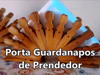 Incrível Porta Guardanapos de Prendedor de Roupas. Carla Oliveira