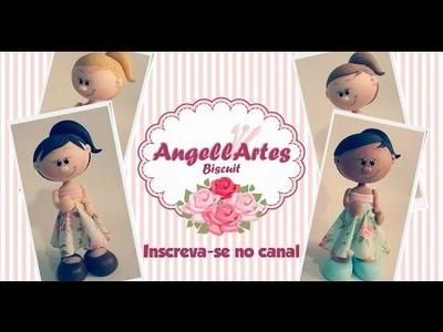 Mini Magrela Grávida Biscuit - AngellArtes
