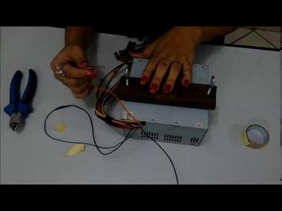P.A.P. como fazer máquina de cortar fitas caseira