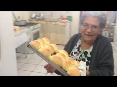 Pão de queijo da vovó  Maria - Culinária em Casa