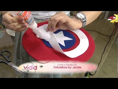 Saiba como fazer um lindo escudo do Capitão América!