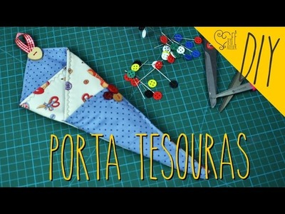 DIY ::: Porta Tesouras - By Fê Atelier