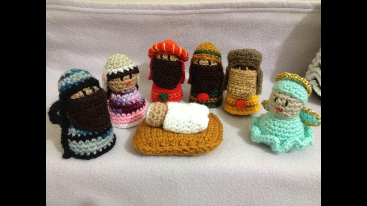 Presépio Natal #1 crochê - Parte 1. Base - Professora Maria Rita