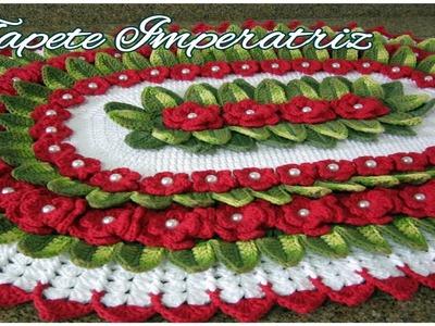 "Tapete Imperatriz - ""Marcia Rezende - Arte em Crochê"" - 2.3"
