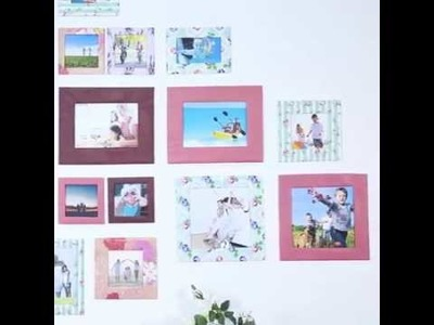 Aprenda a Fazer porta retrato de papel