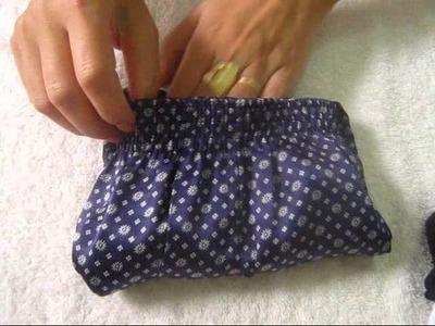 Como dobrar e organizar calcinhas!
