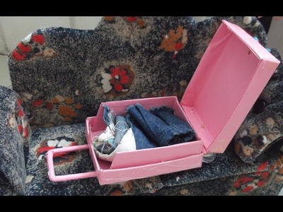 Como fazer mala de viagem para barbie