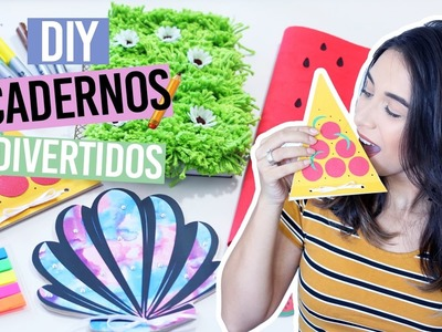 DIY: VOLTA AS AULAS + SORTEIO | Cadernos Divertidos
