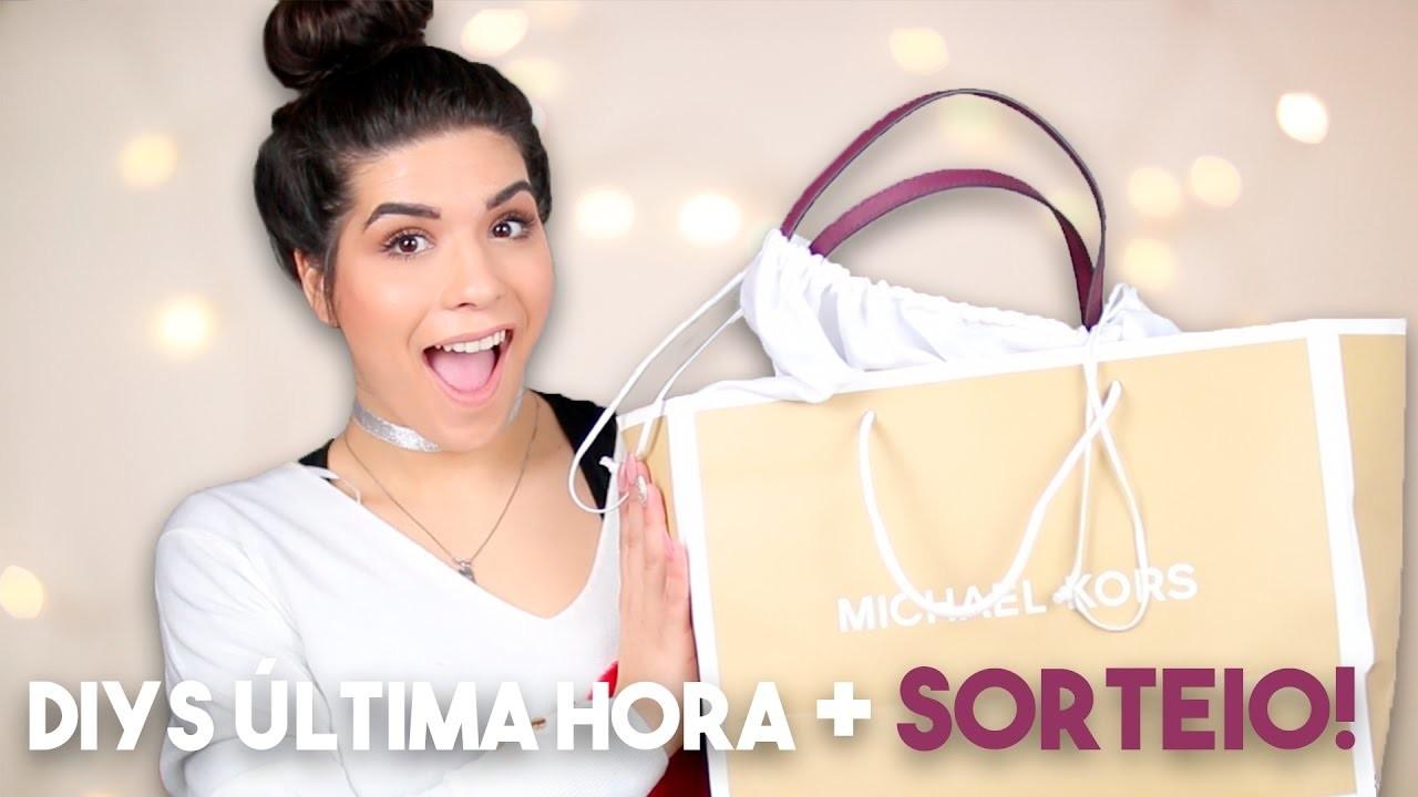 DIYs LOW COST e de ÚLTIMA HORA! + GANHA UMA MICHAEL KORS!