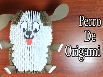 Dog. Perrito de Origami 3D TUTORIAL!