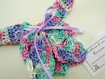 Lembrancinha Nascimento em Crochê - Mini Casaquinho