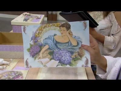 Mulher.com - 29.10.2016 - Arte em madeira - Marisa Magalhães  P1