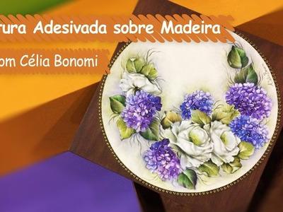 Pintura Adesivada sobre Madeira com Célia Bonomi | Vitrine do Artesanato na TV - Gazeta