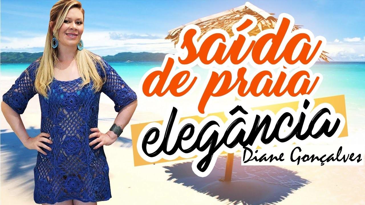 SAÍDA DE PRAIA ELEGÂNCIA P ,M ,G. DIANE GONÇALVES