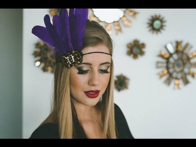 Tutorial: Como fazer Acessório de Carnaval por Juliana Latache