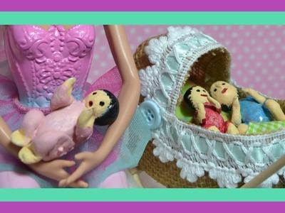 Como fazer baby, bebe  para boneca barbie