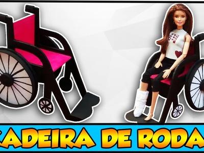 Como fazer: Cadeira de Rodas para bonecas Barbie, Monster High, Ever A H entre outras!