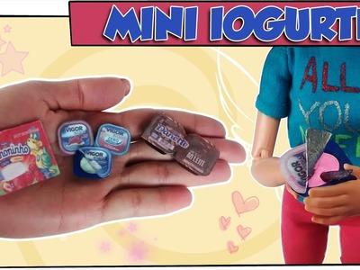 Como fazer: Iogurte para bonecas Barbie, Monster High, Baby Alive, E.A.H entre outras!