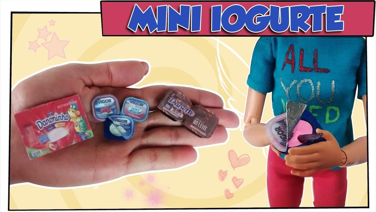 Como Fazer: Iogurte Para Bonecas Barbie, Monster High